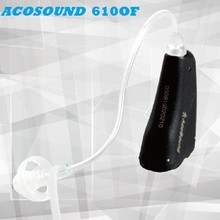 Acosound 610OF Mini Ear Aids Digital Hearing Aid Open Fit Hearing Sound Amplifier Black Color Ear Care Medical Device