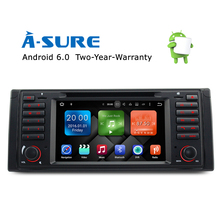 "A-Sure Android 6.0 2GB RAM, 32GB GPS Navigation 7"" Car DVD Player for BMW E39 5 Series 7 Series/M5 X5 E38 with RDS/Mirror link(Hong Kong)"