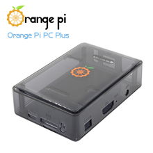 Orange Pi  Black Transparent  ABS  case for PC Plus ,not for Raspberry