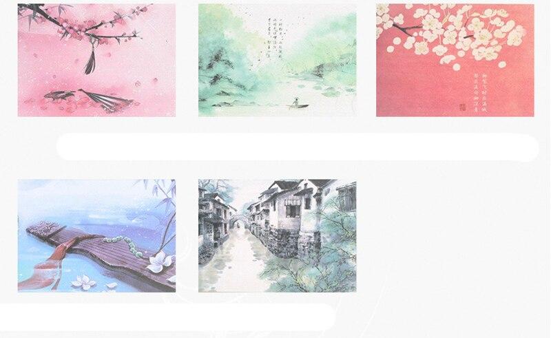 Hiinapäraste piltidega märkmikud