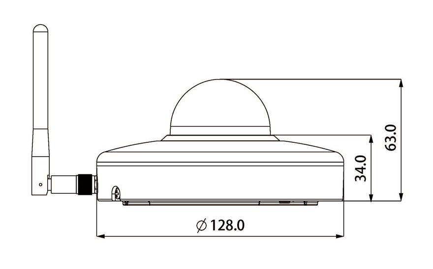 SD1A203T-GN-W_Dimension