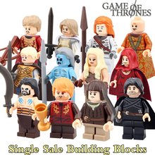 Jon Snow Daenerys Tyrion Lannister White Walkers Game of Thrones diy figures Ice and Fire Series Building Block Kids DIY Toys