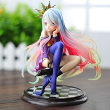 Hot Anime 15CM Kotobukiya No Game No Life Shiro Anime 1/7 Complete PVC Figure Collection In Box Christmas Toy Kids Toys