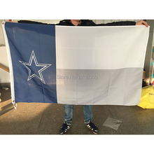 Dallas Cowboys Your Text Flag And Banners Jersey Jerseys Premium Team Banner 3ft X 5ft World Series 2016 Dallas Cowboys Flag(China)