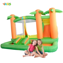 YARD Hot Selling Jungle Combo Inflatable Bouncer Inflatable Combo Bouncer with Slide
