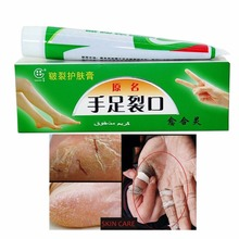 Hand Foot Crack Cream Heel Chapped Peeling Repair Anti Dry Crack Skin Chinese Medicinal Ointment Cream Skin Care(China)