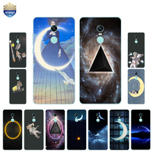 Buy Xiaomi Redmi Note 3 / Redmi Note 4X 5A Phone Case Redmi Note 4 / Pro Shell Redmi Note 2 Moon Triangle Design Painted for $1.43 in AliExpress store