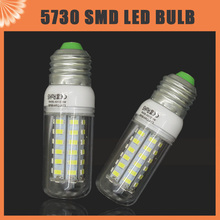 220V 230V SMD 5730 E27 LED Corn Light Bulb 3W 7W 10W 12W 15W 20W 25W 30W LED Lamp 24LED 36LED 48LED 56LED 69LED 72LEDs