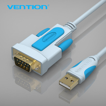 Vention New USB to RS232 Serial cable 1.8 m 9Pin DB9 Cable Adapter Support XP/VISTA/WIN7/WIN8/MAC