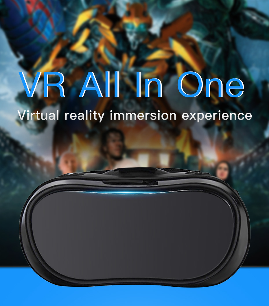 vr headset vr glasses virtual reality for pc HDMI All In One 3d glasses VM02-2
