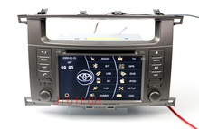 "7"" Car Stereo GPS Naviation Autoradio DVD Player for Toyota Land Cruiser 100 1998-2004 GPS Navigation double din dvd player"