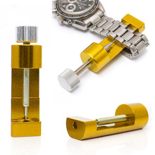1 PC Metal Adjustable Watch Band Strap Bracelet Link Pin Remover Repair Tool Kit Gold(China)