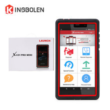 LAUNCH X431 Pro Mini OBD Diagnostic Tool Full System 2 years free update Mini X-431 PRO pros 6.9 inch Auto Scanner DBSCAR III