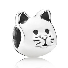 Buy Authentic 925 Sterling Silver Animal Bead Charm European Silver Cat Beads Fit Women Pandora Bracelet Bangle Diy Jewelry for $3.41 in AliExpress store