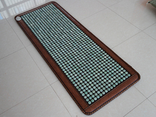 Best Quality! Natural Germanium Mat Beauty Mattress Jade Health Care Jade Heating Pad Yoga Mat Size160x70cm Free Shipping(China)