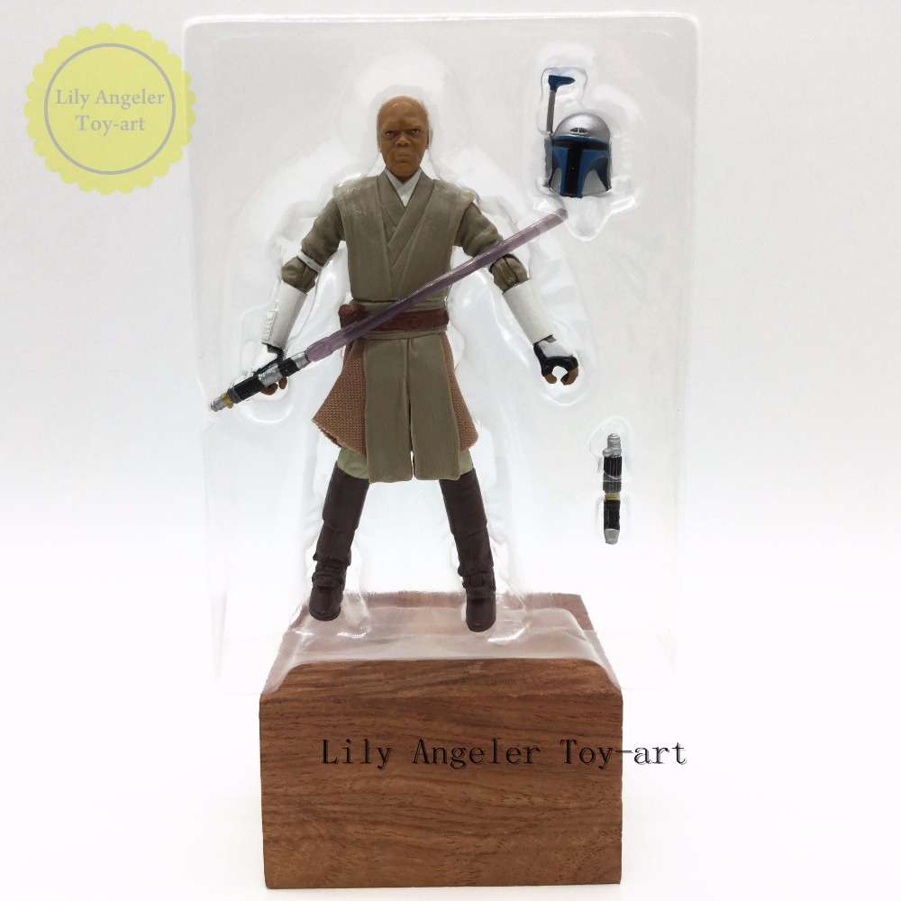 Star Wars Black Label Series charm makes cloud 3.75 inch dolls Mace Windu (boxed)(China (Mainland))