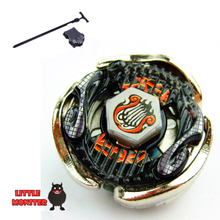 1pcs Beyblade Metal Fusion 4D set BB116B Screw Lyra ED 145MF kids game toys children Christmas gift with Launcher(China)