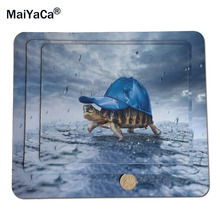 MaiYaCa Turtle Under Baseball Cap Best Custom Mousepads Rubber Pad 18*22cm and 25*29cm