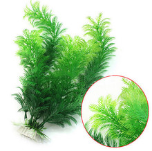 30cm Underwater Artificial Plant Green Grass for Aquarium Fish Tank Landscape Decor(China)
