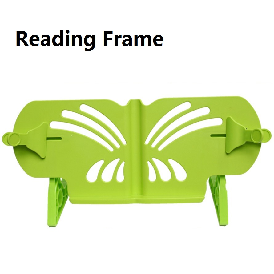 45cm Width Reading frame Child Children Book Holder File Book Stand bookend rack myopia Student Stationery<br>