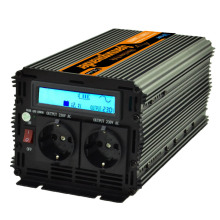 UPS + inverter with LCD display 12v 220v 230v 1500w (peak 3000w) pure sine wave inverter converter with UPS system