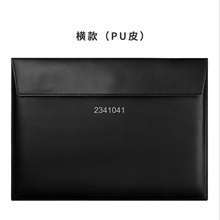 "Fashion PU Leather Notebook Sleeve Bag Waterproof Protector Case for Macbook 11"" 12"" 13"" 15"" Macbook Air Laptop Carry Bag"