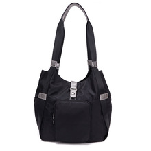 Fabra New Ladies Handbags Fashion Black Women Shoulder Bags Waterproof Women High Quality Tote Hobo Bag Casual Messenger Bags