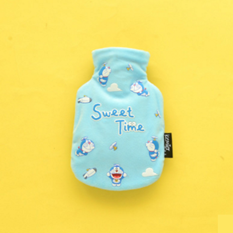1Pcs Winter Cute Cartoon Plush Hot-water Bag Warm Hand Water Injection Hot Water Bottles Household Warming Products HG0403<br><br>Aliexpress