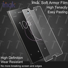 Buy IMAK Sony xperia xz1 xz1 compact Explosion-proof Soft Armor Screen Protector Film Sony Xperia XZ 1 XZ 1 Compact for $4.39 in AliExpress store