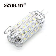 SZYOUMY 1500pcs DC12V 5050 5 LED Modules White / Warm White / Red / Green / Blue Waterproof IP65 For LED Signs(China)