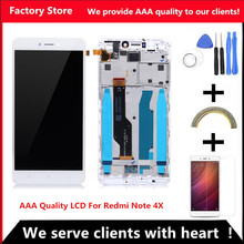 QYQYJOY AAA Quality LCD For Xiaomi Redmi Note 4X LCD +Frame Display Screen For Redmi Note 4X  Assembly (Only Fit For 3G Ram)