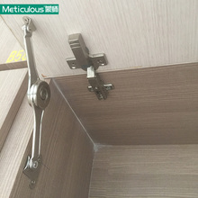 Meticulous Randomly Free Stop Lid Stay Adjustable Hinge Cabinet Cupboard Furniture Lift Up Flap Stay Support Hydraulic Hinges(China)