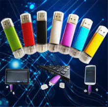 Smart Phones Usb flash drive 64gb OTG pen drive 32gb pendrive 16gb usb stick 8gb  For Android Multitul USB Driver 7 colors