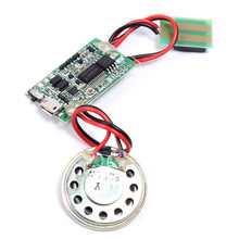 DC 5V Recordable Sound Module Music Voice Chip MP3 Module Programmable For Greeting Card/Postcard/Toys/Gift Box