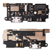 1pcs New For Xiaomi Redmi Note 4 Microphone USB Charging Port Board Flex Cable Connector Parts(China)