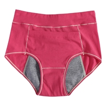 Buy KLV Women Menstrual High Waist leak-proof Sanitary Period Pocket Underwear Panties
