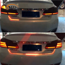 KEEN drl LED Daytime Running light Water Running LEDs Strip Rear light car-styling  automobiles for mercedes peugeot 307 so on