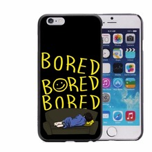 I'm on a case Sherlock Hard Phone Case For iPhone 5 5S 6 6S Plus 7 7Plus Black Cover Popular BORED Sherlocked(China)