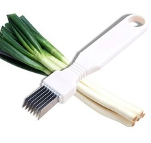 Utensilios de cozinha Spring Cutter gadget kitchen tools Onion Shredder Slicer /Onion knife Vegetable Cutter Cut cooking tools(China)