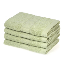 4pcs/set 100% Cotton Hand Towels Fast Absorbant Washing Bathroom Face Towel for Adult Table Washing Cleaning Hand Drying Towels