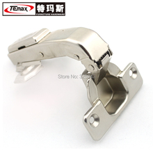 New HB90 50pcs 35mm cup furniture hardware hydraulic soft close cabinet kitchen hinge for Parallel door HB90(China)