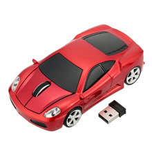 2.4GHz Mouse Gamer Wireless Car Optical USB Mouse Mice 3D 3 Buttons 1000 DPI/CPI Wireless Mouse Racing Car for PC Laptop Desktop