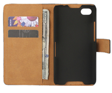 For Blackberry Z30 Wallet Case,New Genuine Leather Book Style Stand Card Flip Cover Case For Blackberry z30(China)