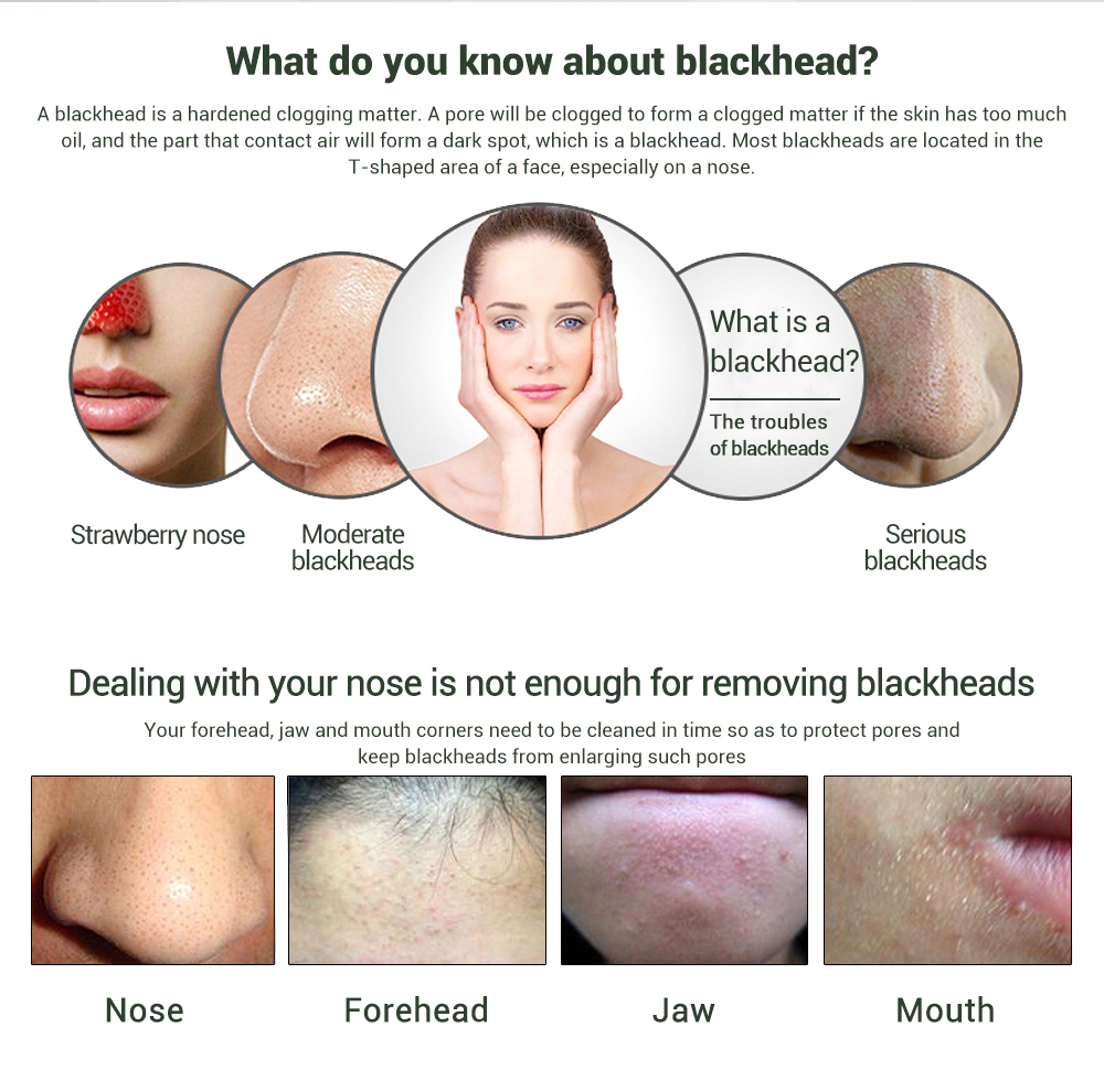LANBENA Blackhead Remover Nose Black Mask Face Care Mud Acne Treatment Peel off Mask Pore Strip Skin Care Peel Mask 3