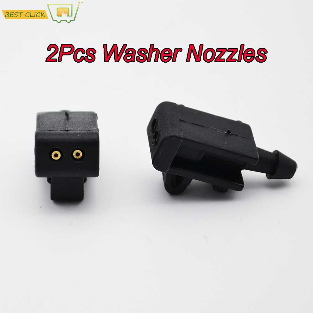 Misima Windshield Windscreen Wiper Washer Nozzles Jet Set For Renault Grand Scenic 2 Megane 2 Laguna 3 Fluence Front Window