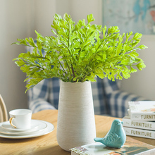 1pc 3Colors Plastic Artificial Coral Grass Leaves Simulation Plant for Home Garden Wedding Decoration(China)