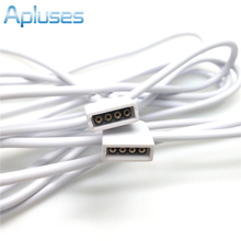 1Piece LED strip Connector, 4pin Needle RGB Extend Wire, Male To Female Connector Lighting Accessories High Quality