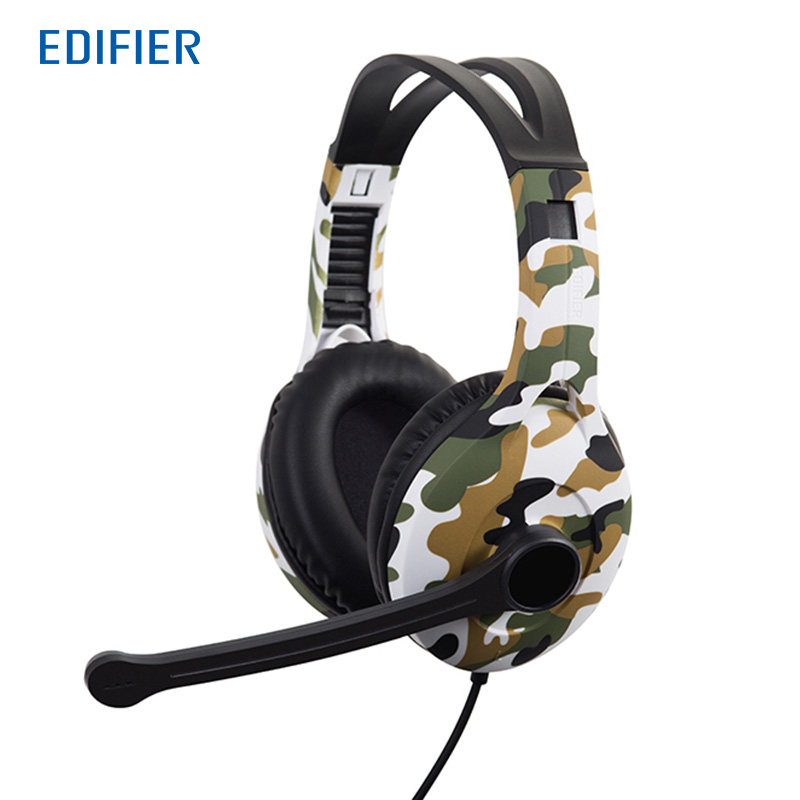 Edifier G10 Headphones Noise Cancelling 7.1 Virtual Surround Sound Earphone With Microphone 2.5m USB Cable For Phones Computer<br>