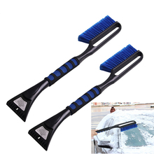 1PC Car Vehicle Snow Ice Scraper SnoBroom Snowbrush Shovel Removal Brush Winter Car Accessories Wholesale