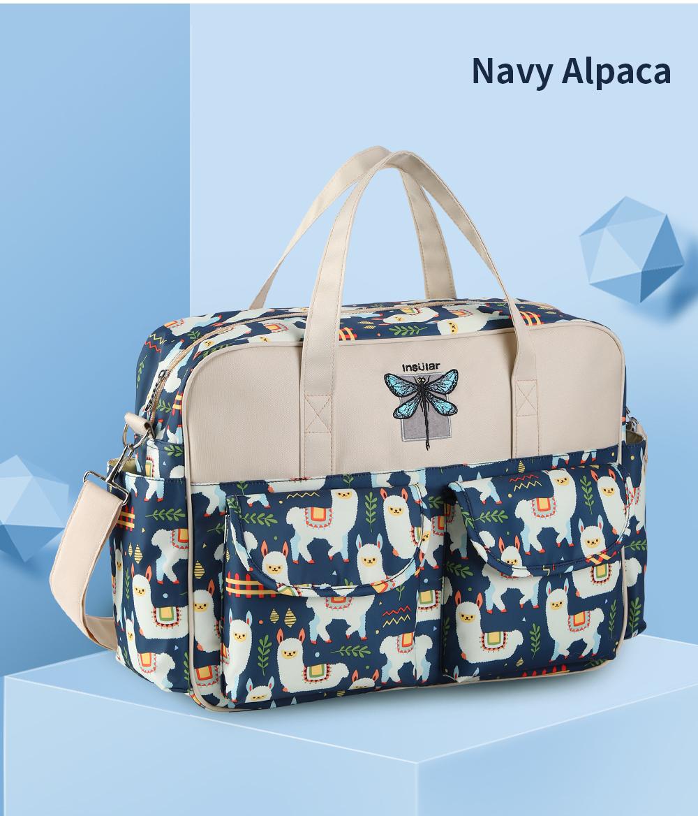 Waterproof Multifunctional Diaper Bag 18